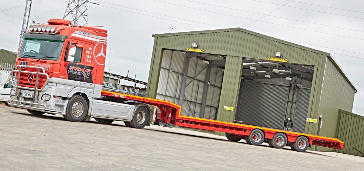 HGV Trucks and Trailer hire